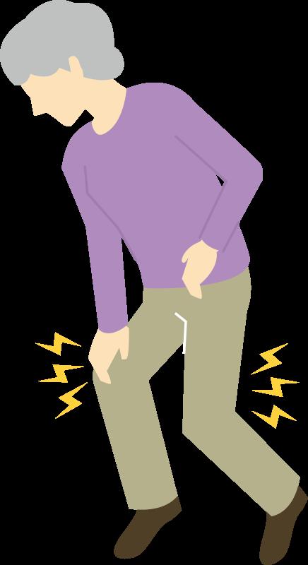 ひざ・足の症状(痛み・しびれ・違和感)