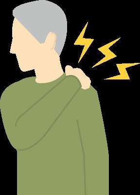 肩・首の症状(痛み・こり・しびれ)